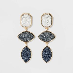 Sugarfix by BaubleBar Druzy Earrings
